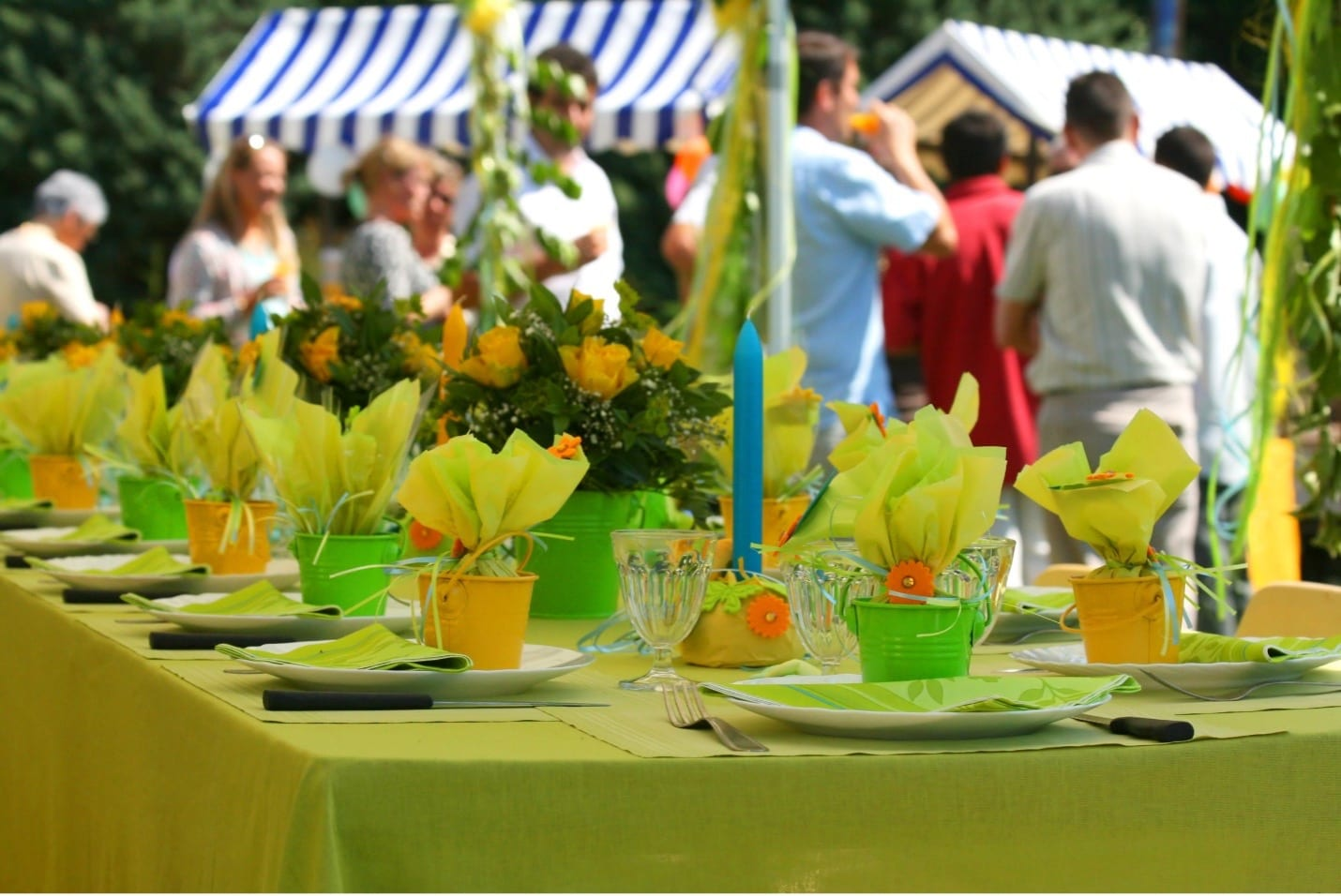events for weddings, birthdays and other celebrations