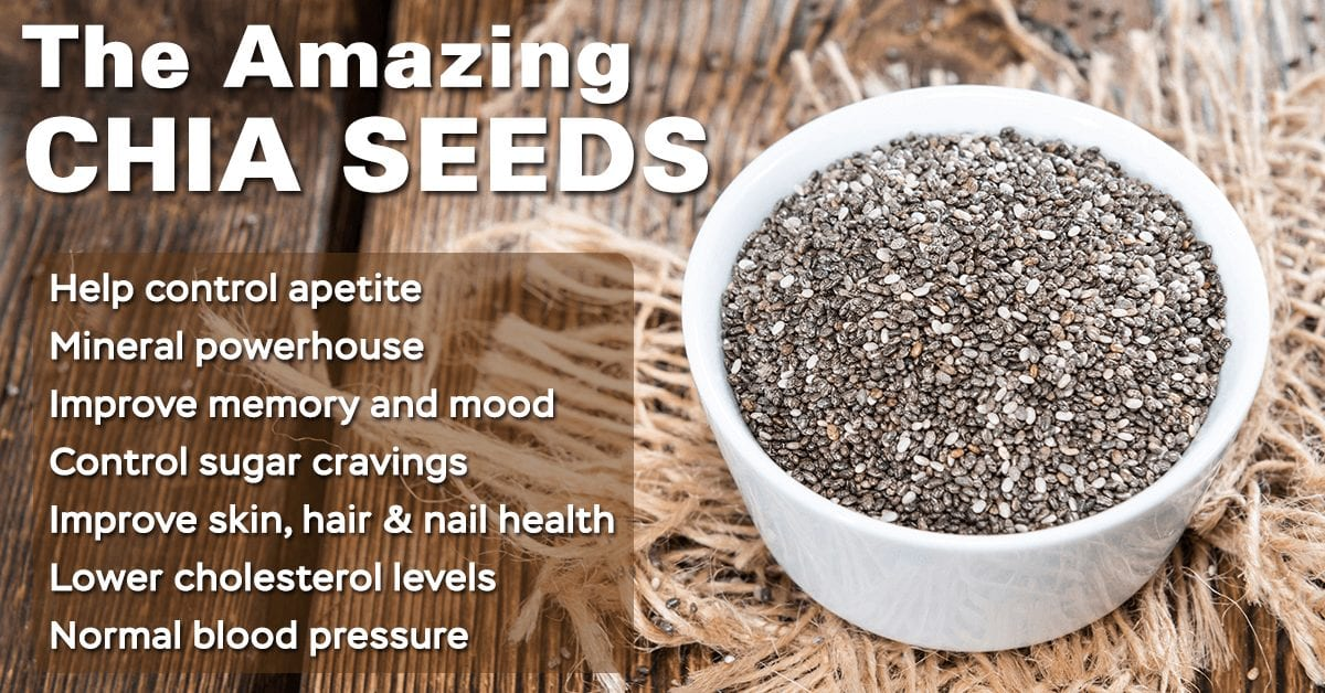 Chia for life… These seeds harbor amazing health benefits!